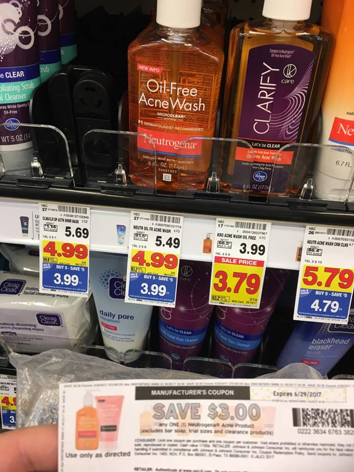 Neutrogena Facial Wash just $.99 - Kroger Couponing