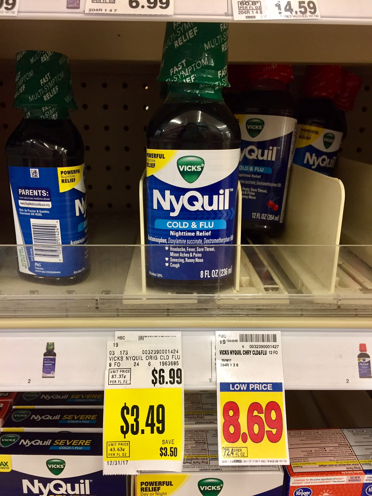 Vicks Nyquil - Can Cause False Positive For Ecstasy (MDMA), Methamphetamines.. All the best and take care.