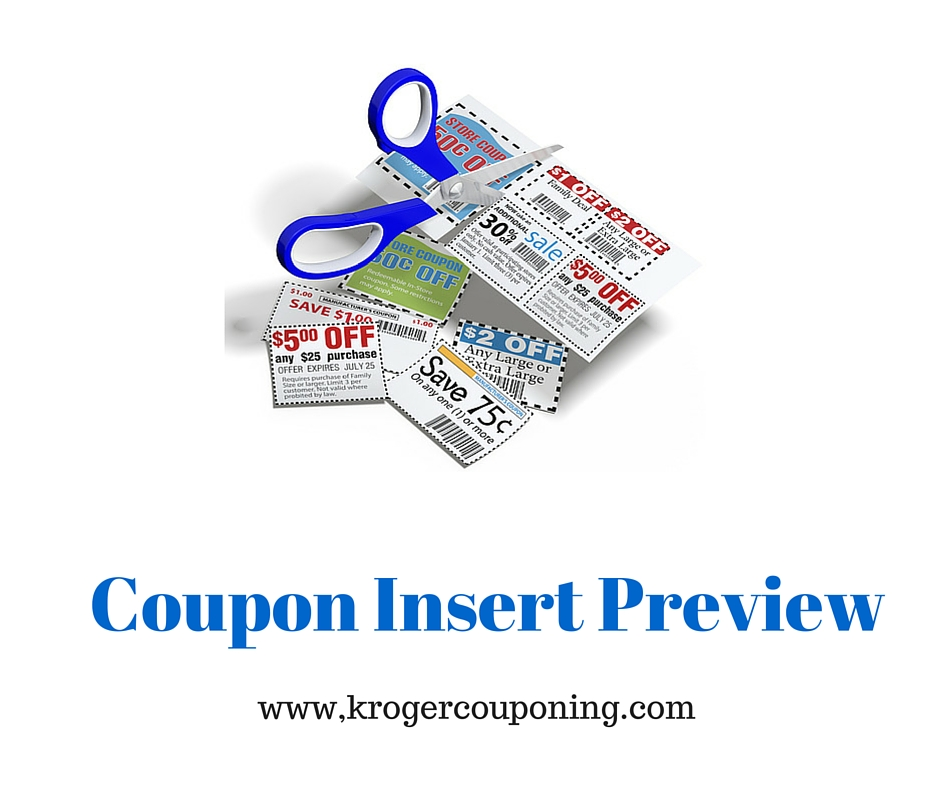 Coupons preview