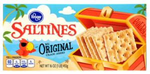 Box Of Saltine Crackers