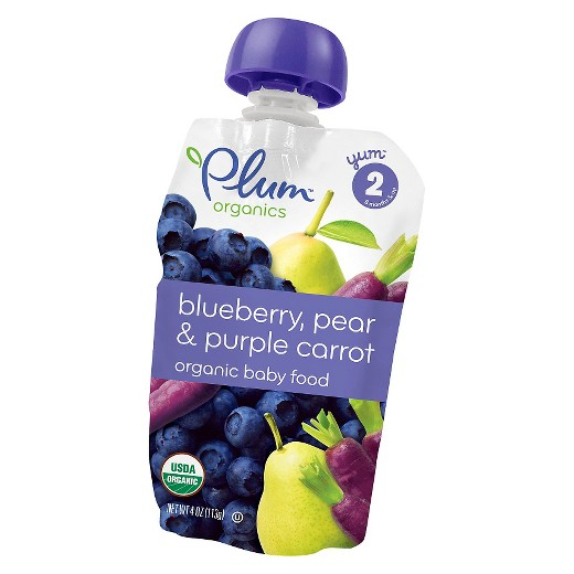 Plum pouches