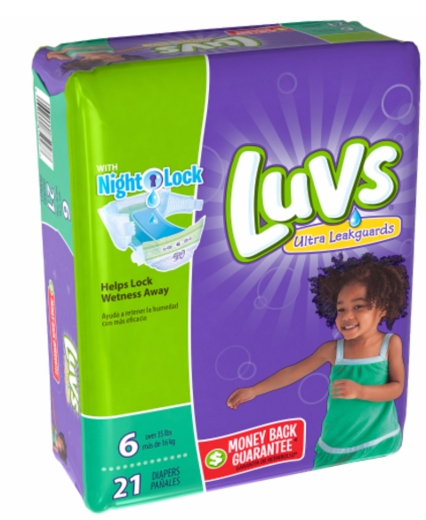Luvs Diapers Size 4. Showing 28 of 28 results that match your query. Search Product Result. Product - Luvs® Ultra Leakguards™ Size 5 Diapers 96 ct Box. Luvs Ultra Leakguards Diapers with Night Lock, Size 4 29 ea. Add To Cart. There is a problem adding to cart. Please try again.