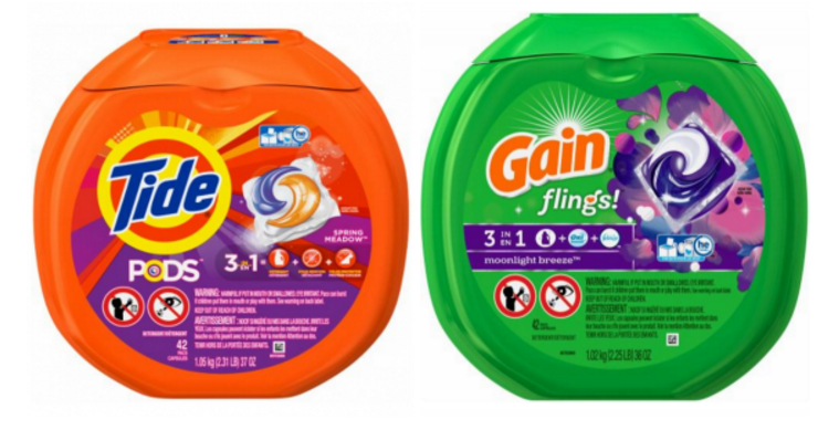 To get the best results, people in hard water areas need to use more detergent. What Dosage Should I Use? Pacs: To make life easier, try the pre-dosed laundry pacs, like Tide PODS® for extra convenience. First, insert the required number of pacs based on your load size, then fill your washer with your laundry and turn the machine on.