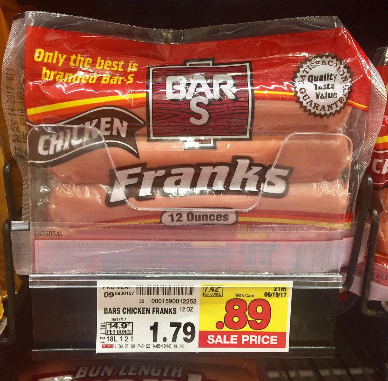 Hot Dogs At Safeway