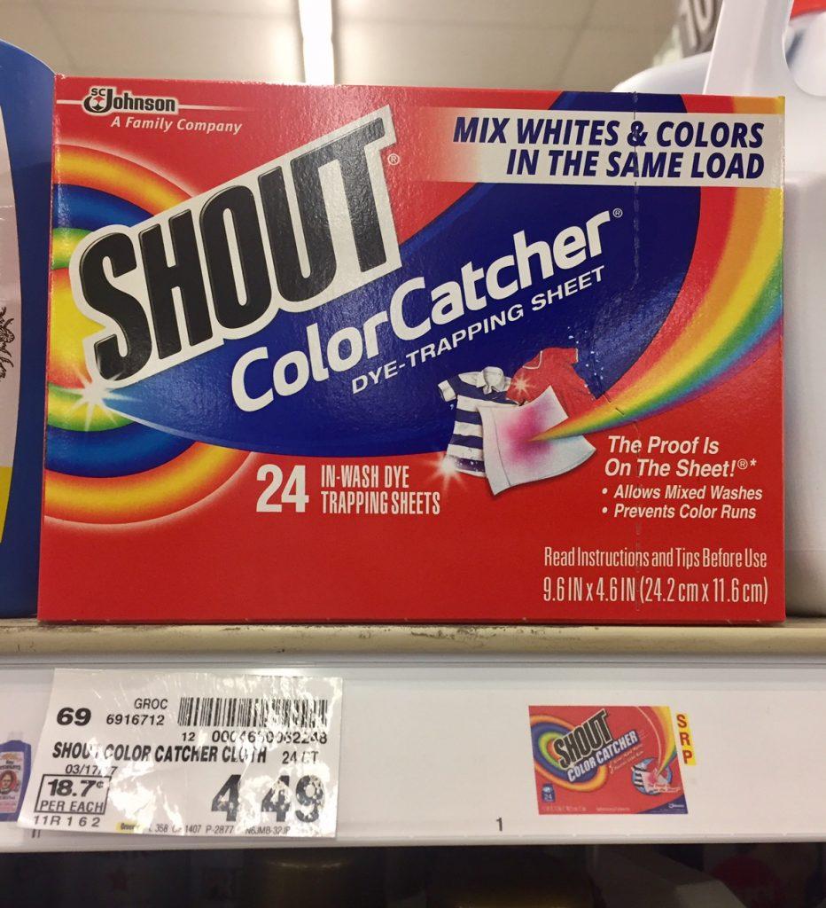 Shout Color Catcher just $3.74 - Kroger Couponing