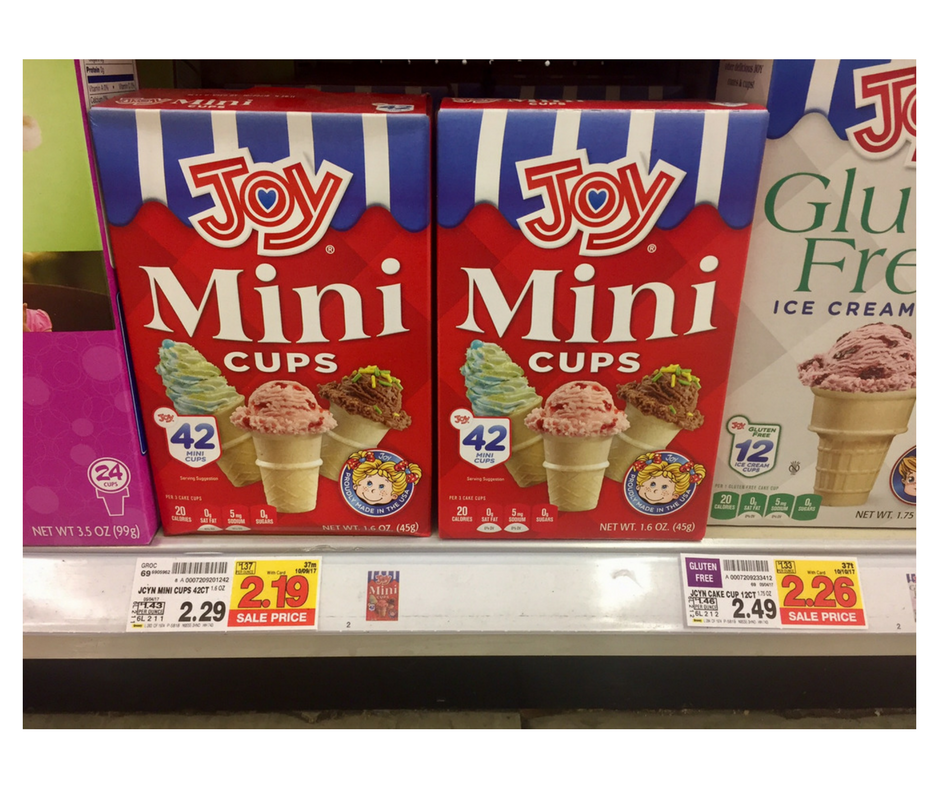 Joy Ice Cream Cones Just 184 At Kroger Kroger Couponing