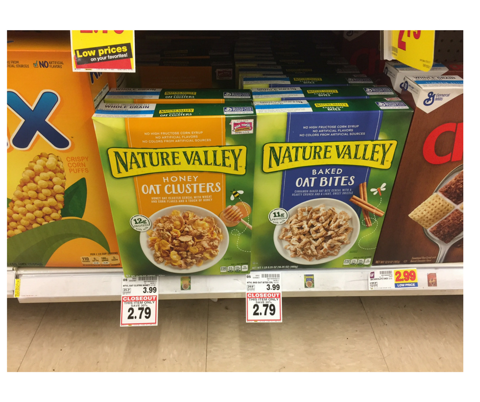 picture regarding Nature Valley Printable Coupons titled Character Valley Cereal particularly $2.04 - Kroger Couponing