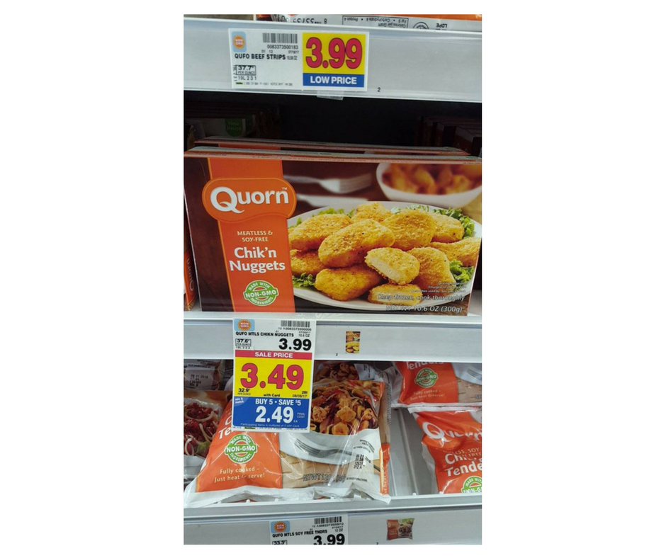 Free Quorn Product At Kroger