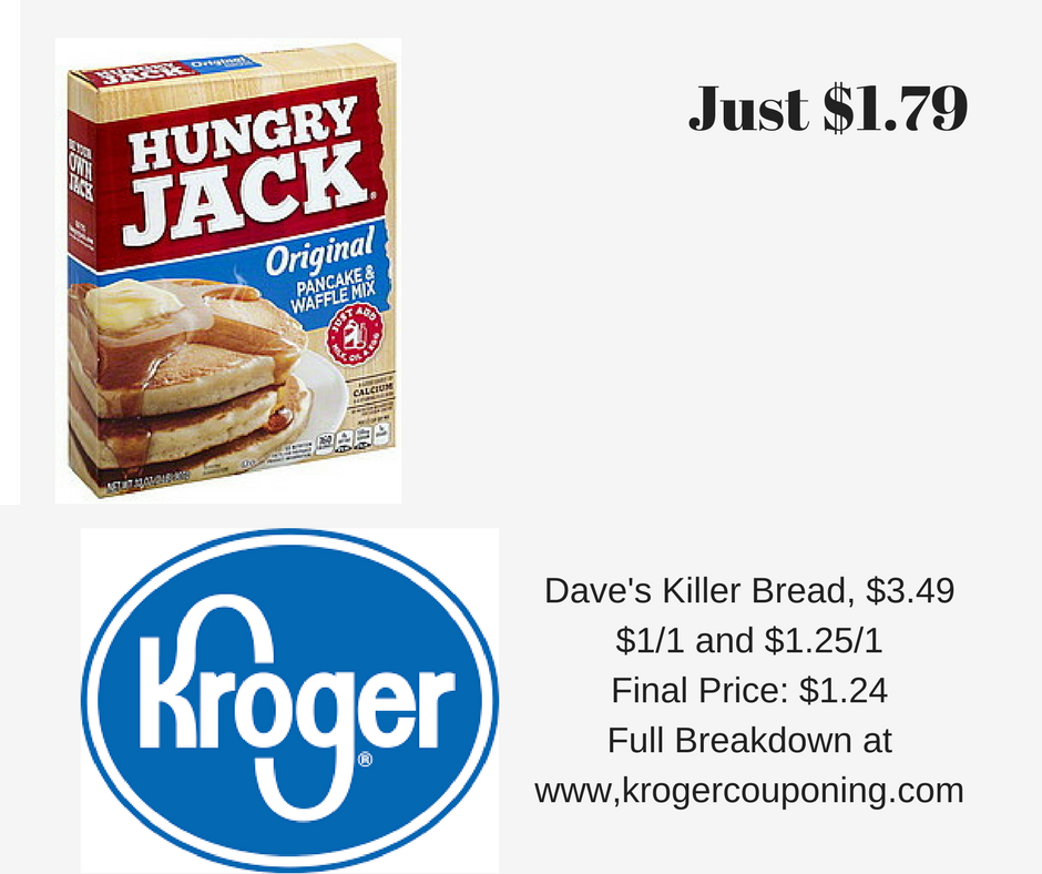 Hungry jack pancake mix 179 kroger couponing we have breakfast for dinner fairly often and it is so yummy but its also an easy week night dinner hungry jack pancake waffle ccuart Gallery