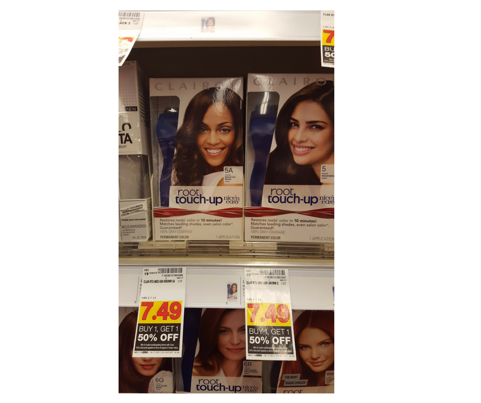 Clairol Hair Color As Low As 312 Kroger Couponing
