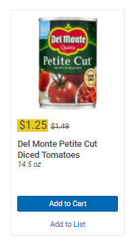 graphic about Del Monte Printable Coupons called Uncommon Delmonte Canned Tomatoes printable coupon! - Kroger