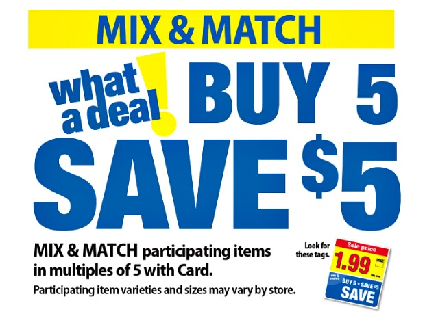 Kroger Mega Event Buy 5 Save 5 February 21 March 6 Kroger Couponing