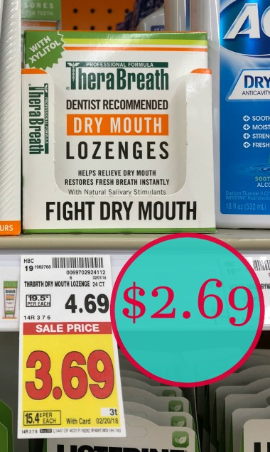 photo relating to Therabreath Coupons Printable named Fresh TheraBreath - Conserve $2 upon Lozenges! - Kroger Couponing