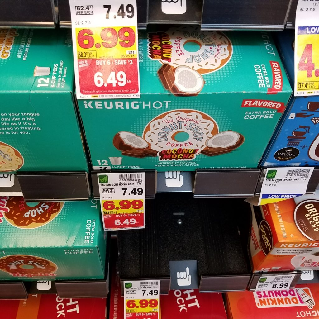 The Donut Shop, $6.49 wyb 6 mega sale items -$0.50/1 The Original Donut Shop  K-Cup Pod (Ibotta Deposit) [Any variety; 10-ct. pack or larger]