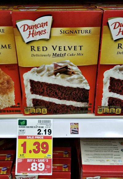 Duncan Hines Cake Mix Just 89c At Kroger No Coupon Needed