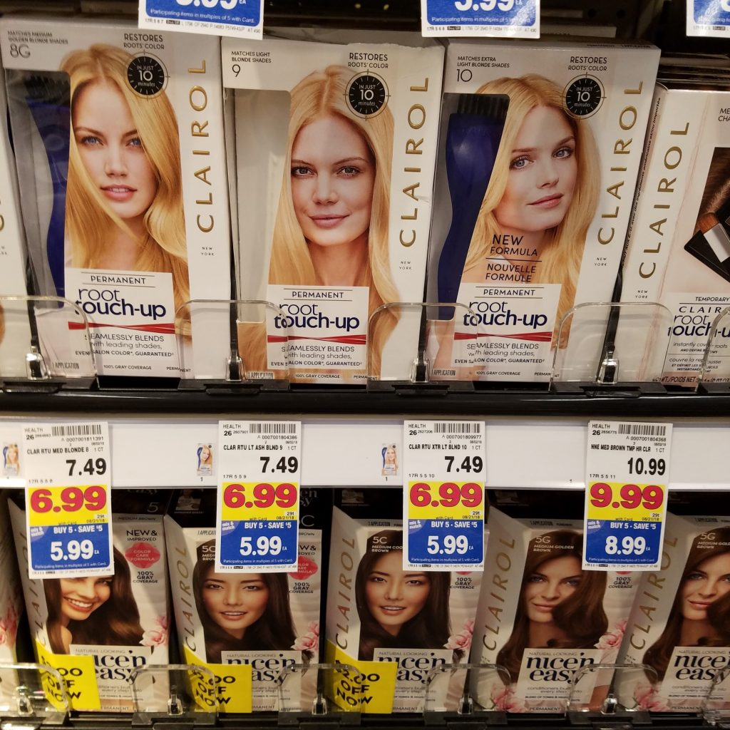 Clairol Hair Color Just 299 Kroger Couponing