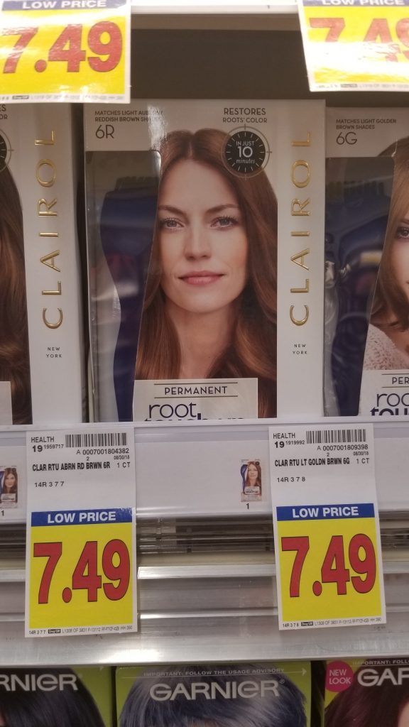 Clairol Hair Color As Low As 429 Kroger Couponing