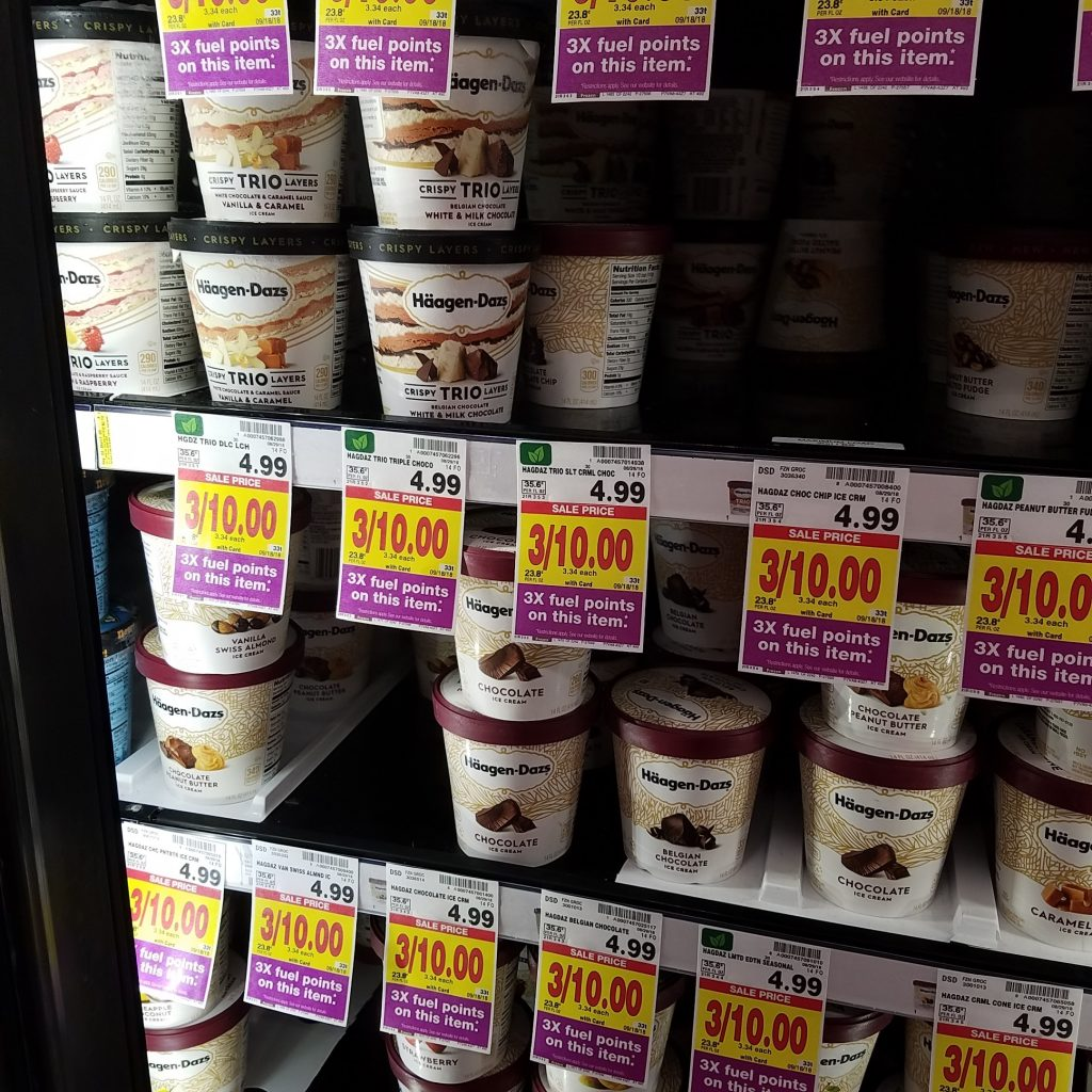 photo regarding Haagen Dazs Printable Coupon identify Haagen Dazs Ice Product accurately $3.32 - Kroger Couponing
