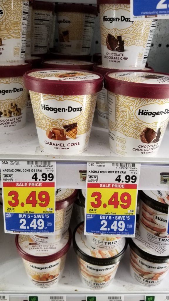 graphic relating to Haagen Dazs Coupon Printable named Haagen Dazs Ice Product basically $1.82 - Kroger Couponing