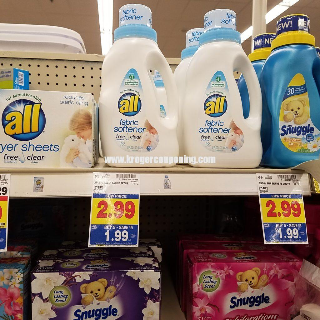 All dryer sheets coupon