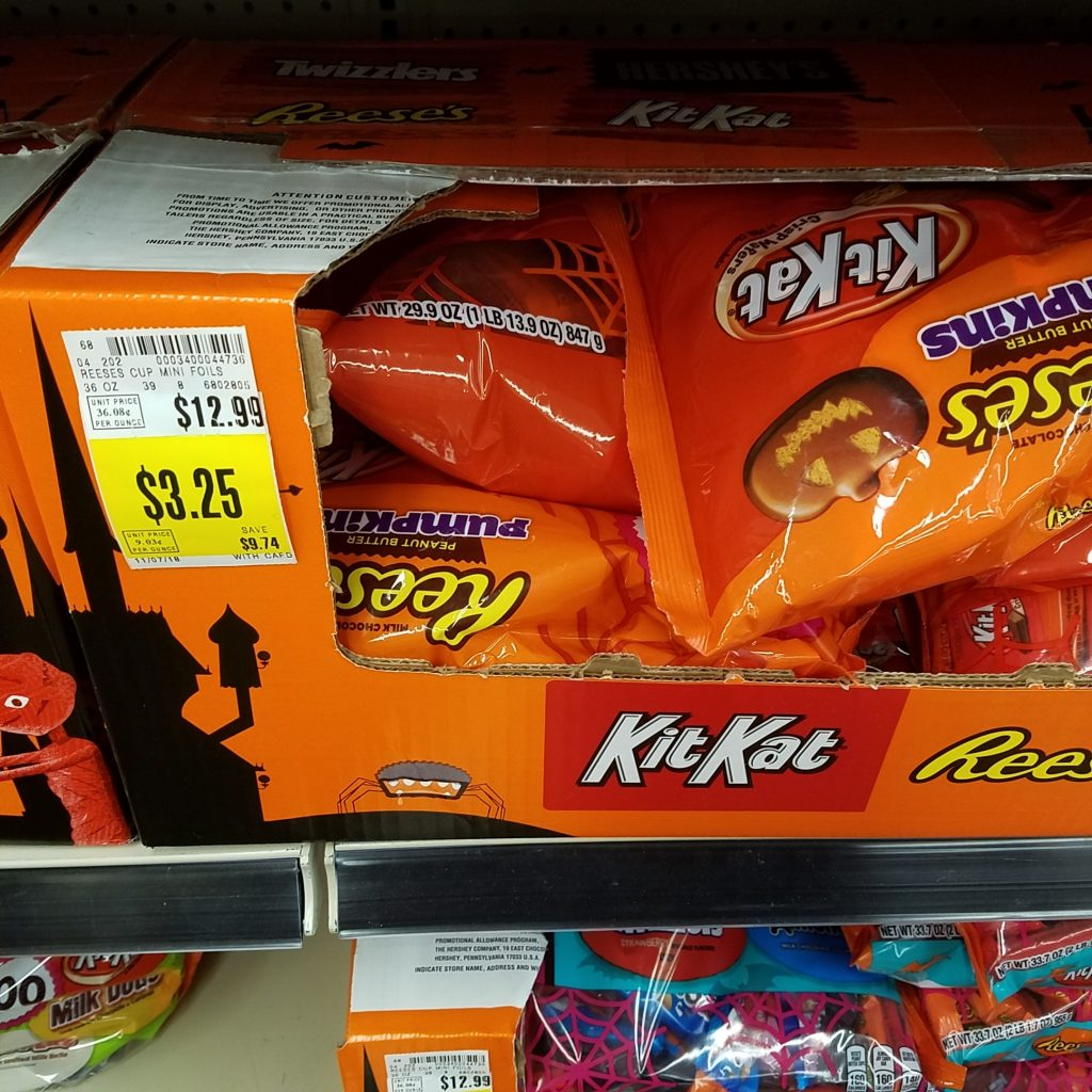 huge halloween candy discounts! - kroger couponing
