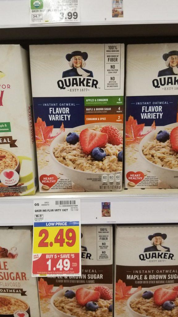 quaker oats coupon 2019